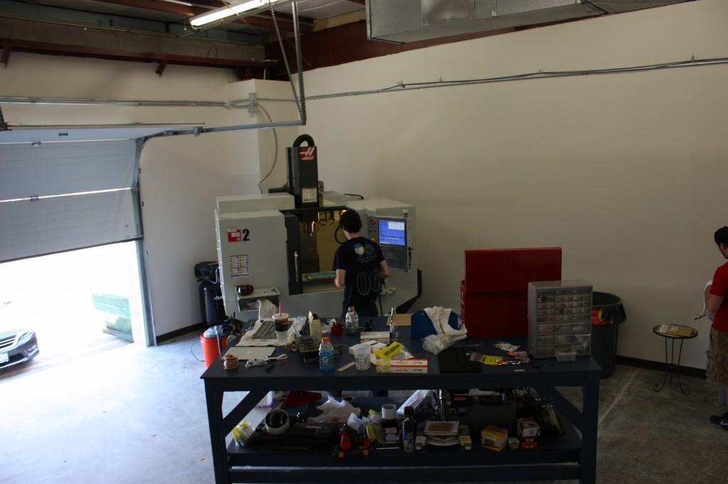 New CNC Room