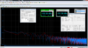 ODAC, A-weighting under -180dBFS 20kHz signal (effective mute)